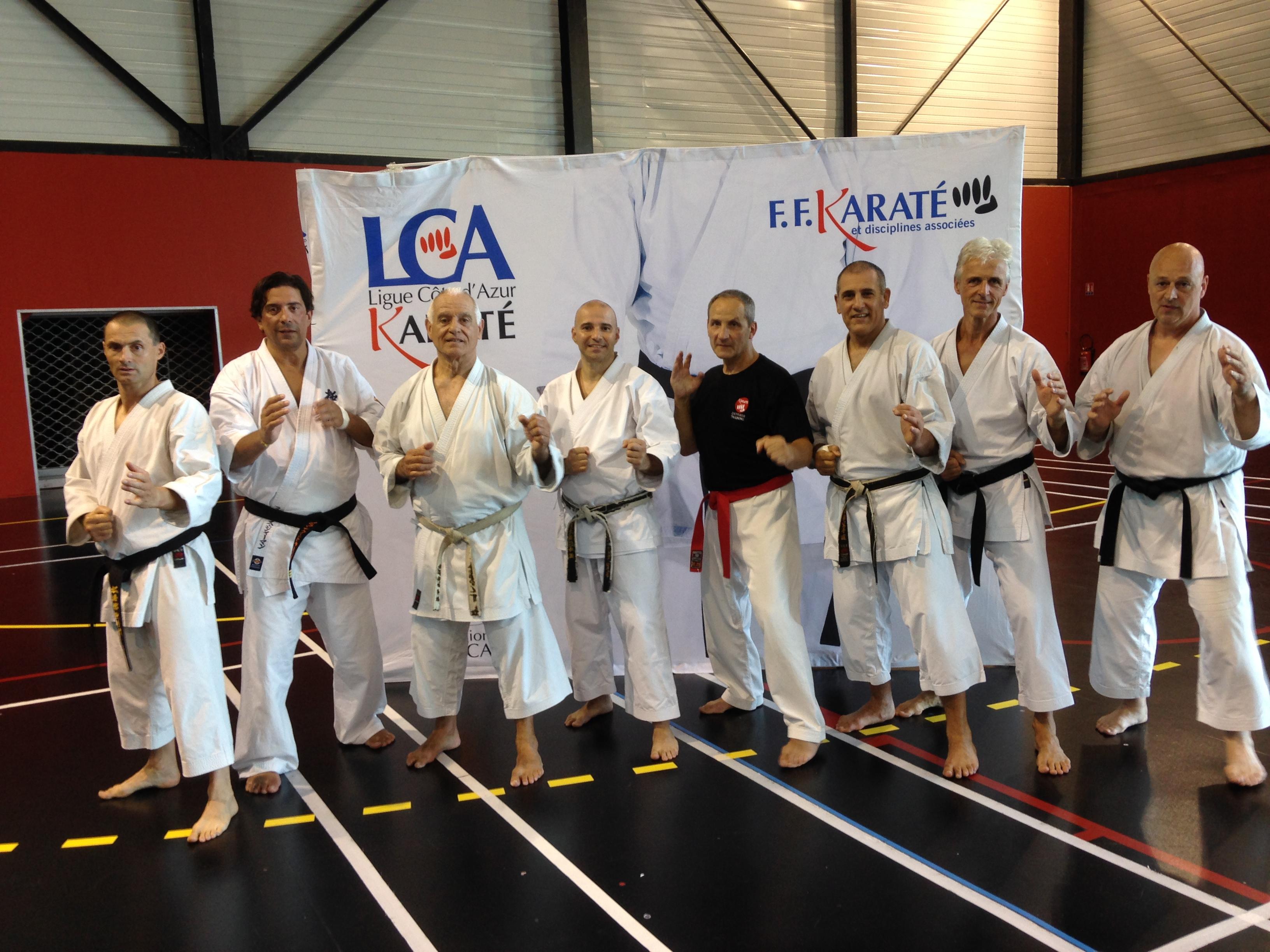 Jean Marc Lopez Stage Karate